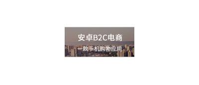 安卓B2C电商